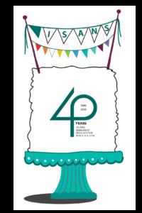 isans anniversary cake